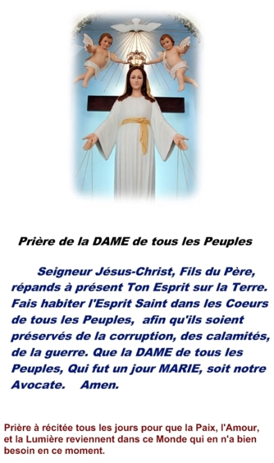 Consecration au Coeur de Marie Priare13