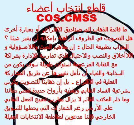 NON AUX ELECTIONS COS ET CMSS Electi10