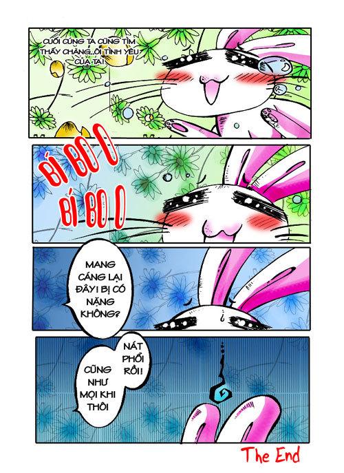 """Truyện tranh """"đười ươi và thỏ """". 311"""