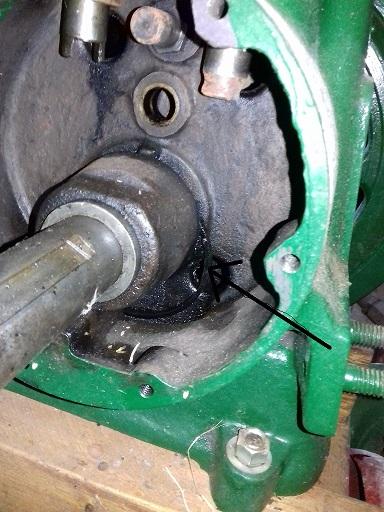moteur lister A28s Bague111