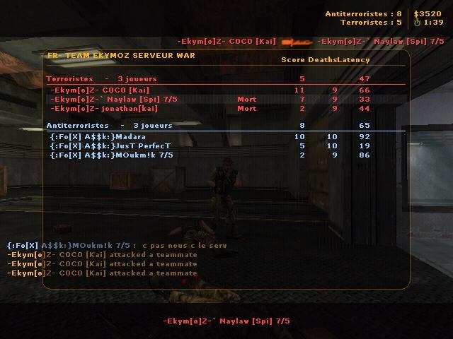 WAR -Ekym[o]Z- VS {:Fø[X]&A$$k:} - ( 18 Ekymoz // 30 {:Fø[X]&A$$k:} ) War1_b10