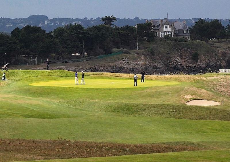 Au golf de Dinard Golf10