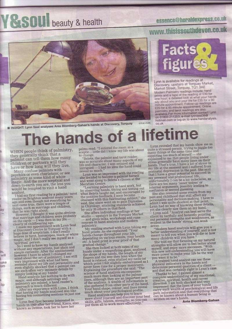 Lynn in the news! Herald10