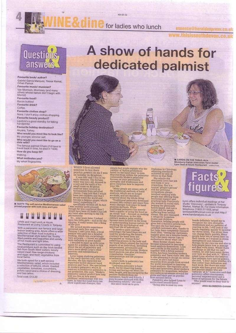 Lynn in the news! Ladies10