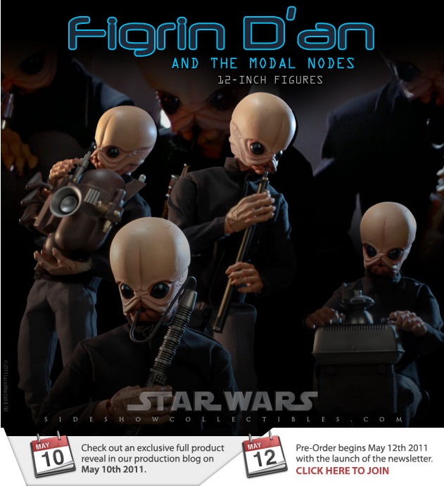 Sideshow - 12' - Figrin D'an And The Modal Nodes  1210