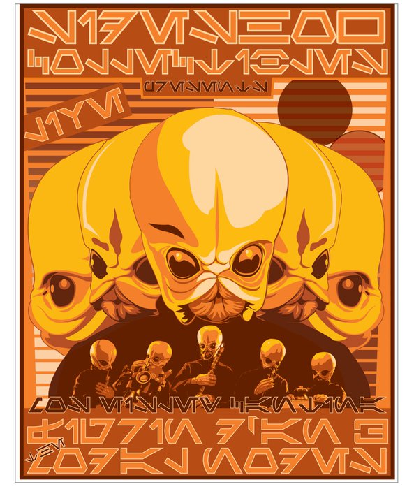 Sideshow - 12' - Figrin D'an And The Modal Nodes  22606010