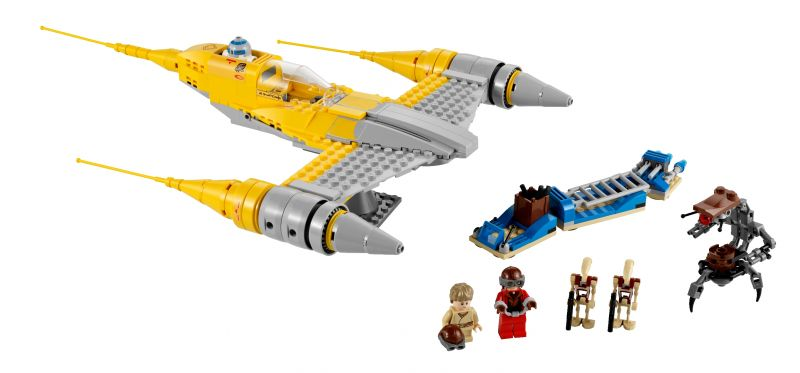 LEGO - 7877 - Naboo Starfighter  7877-110