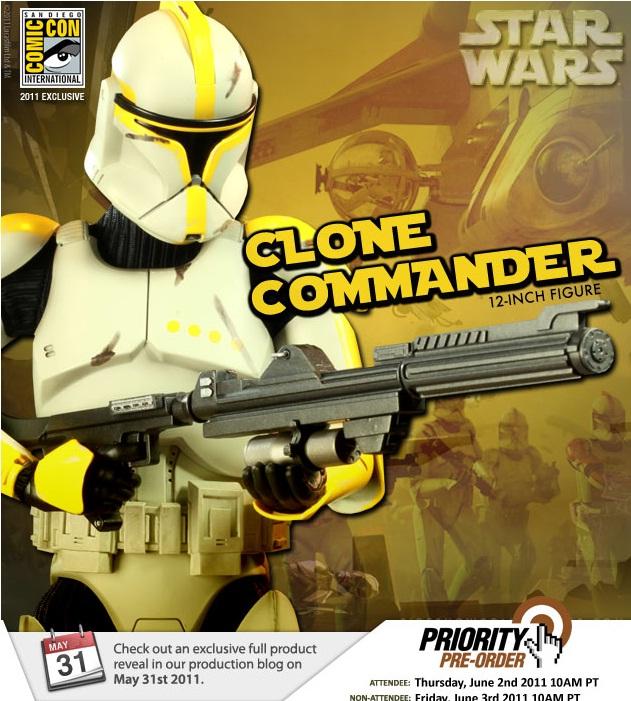 Star Wars - 12' - Clone Commander - SDCC 2011 Comman10