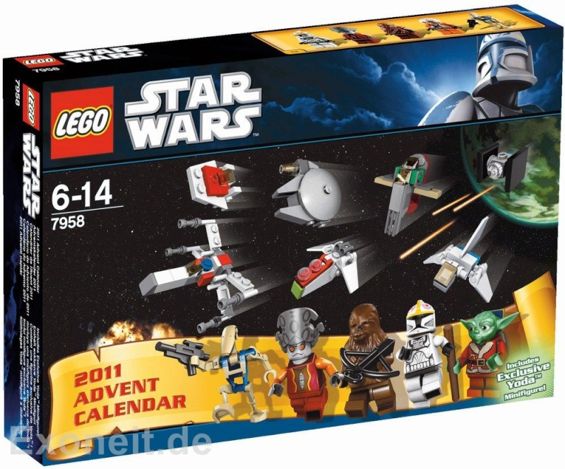 Lego - 7958 - Star Wars 2011 Advent Calendar Gt_15010