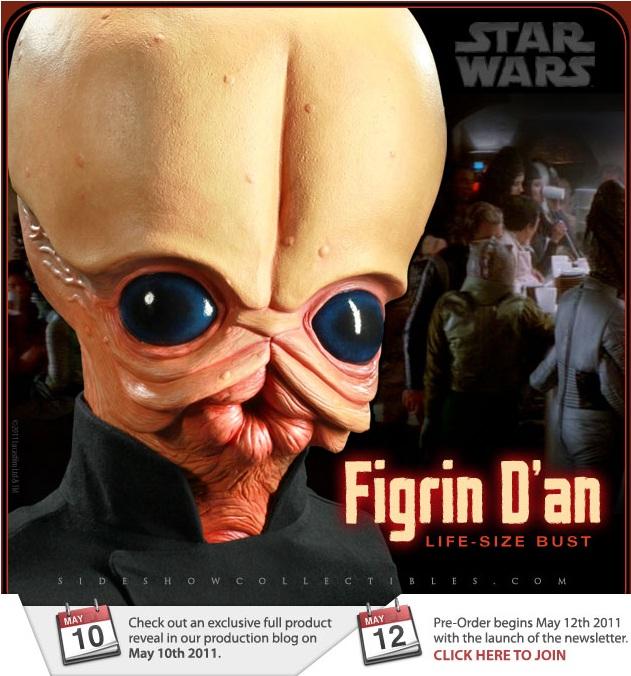 Sideshow - Figrin D'an - Life Size Bust Lsb10