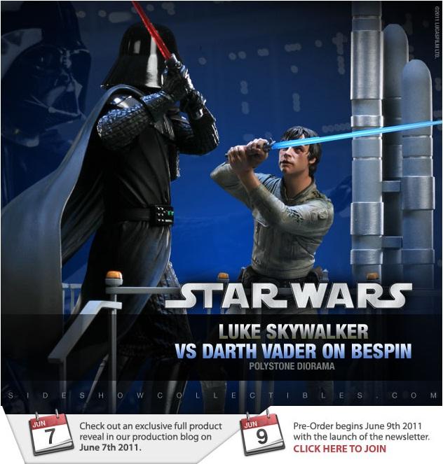 Sideshow - Luke Skywalker VS Darth Vader on Bespin Diorama Luke10