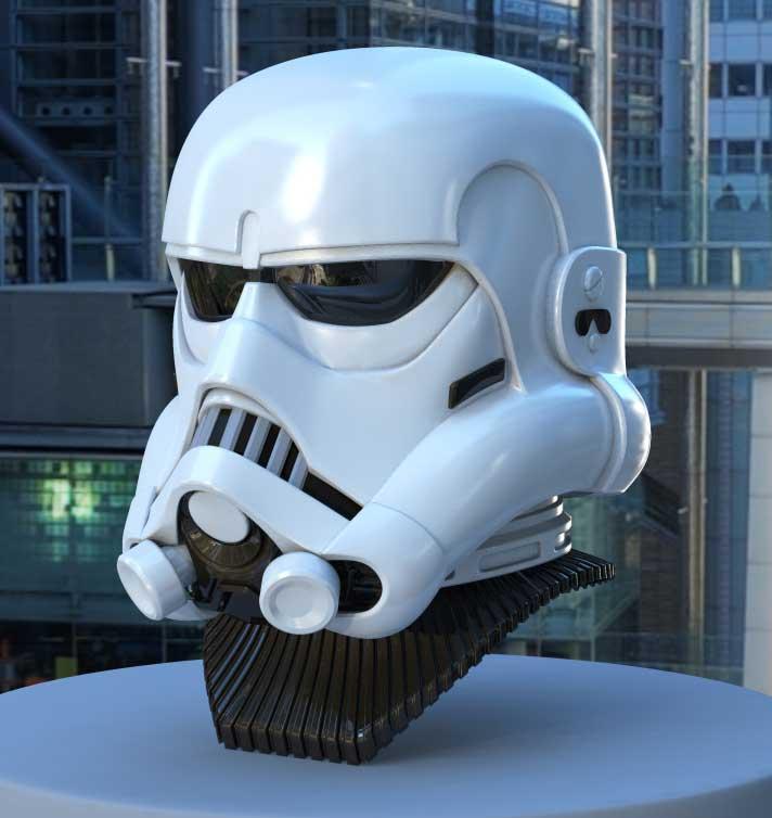 Efx - McQuarrie Concept Stormtrooper Helmet Mcstor10