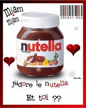 Aimes -tu le Nutella 93007110