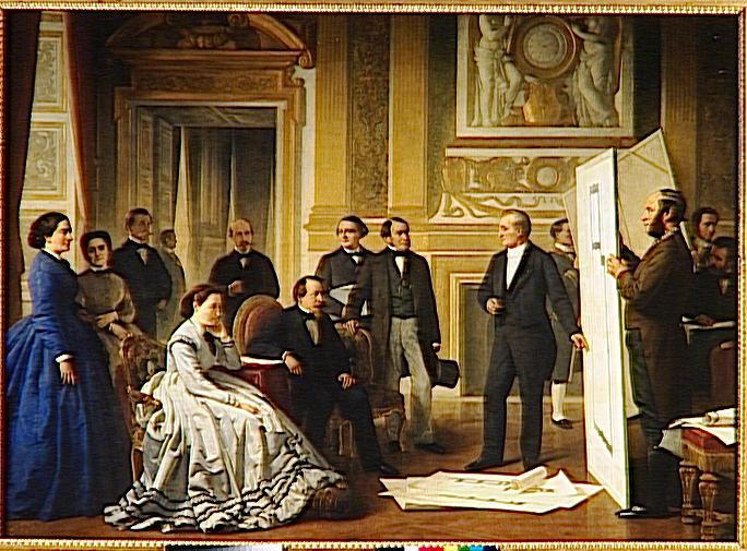 L'horloge du Grand escalier = palais des Tuileries ?  M5036010