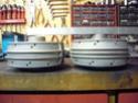 Jante à rayons sur R100 RT 1981 avec Brembo Moyeu_10