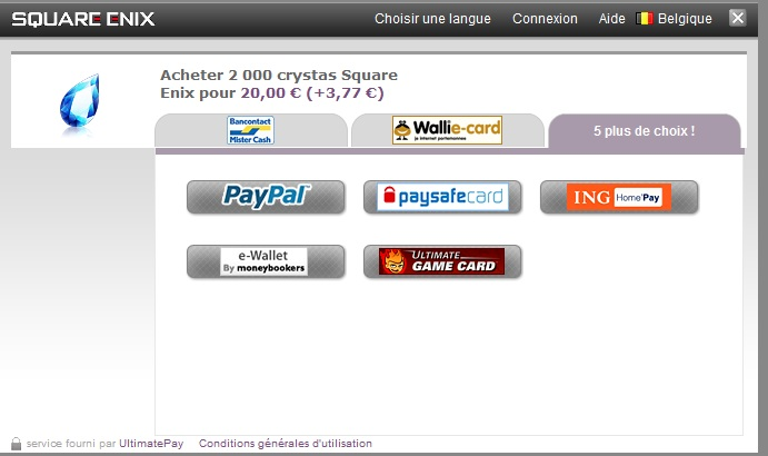 Moyen de payement Payeme10