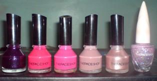 Faceshop Nail Colors Review Facesh10