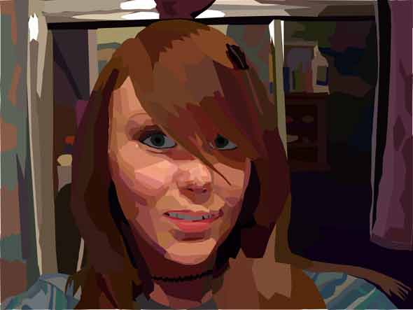 Assignment 12 - self-portrait with pen tool Due Oct 19 (Tues) Newpor10