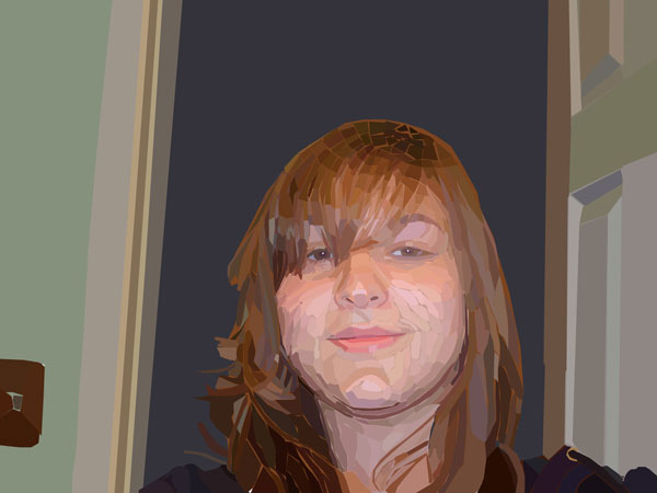Assignment 12 - self-portrait with pen tool Due Oct 19 (Tues) Me-lay10