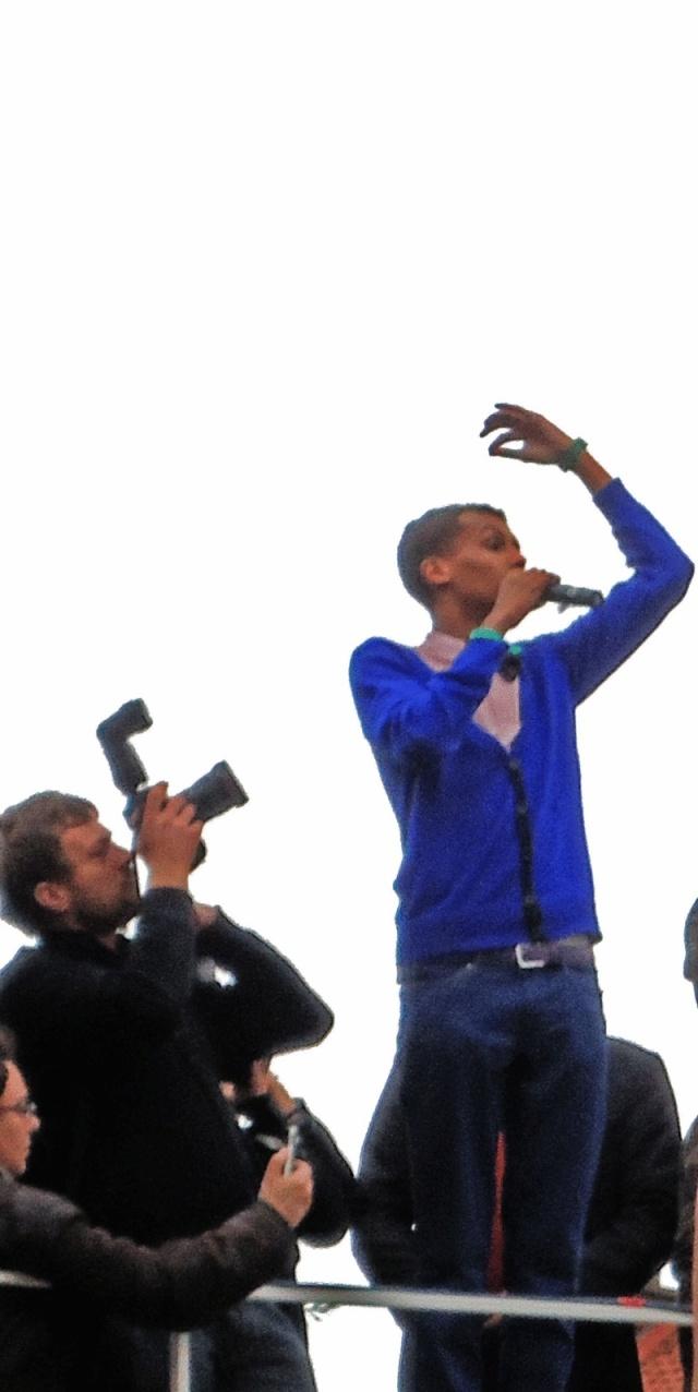 06/10/10 photos du flash mob à Bruxelles Stroma12