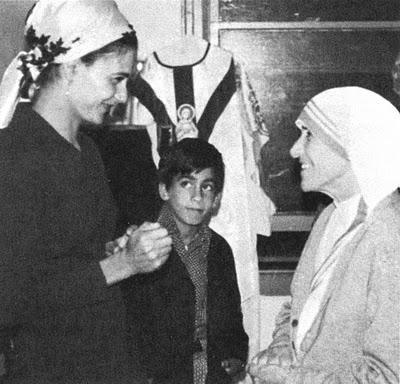 Bienheureuse Mère Téresa et Garabandal Conchi11