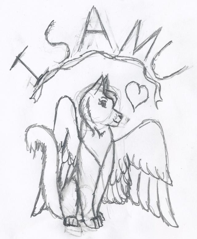 Art of a Friend's Character Isamus11