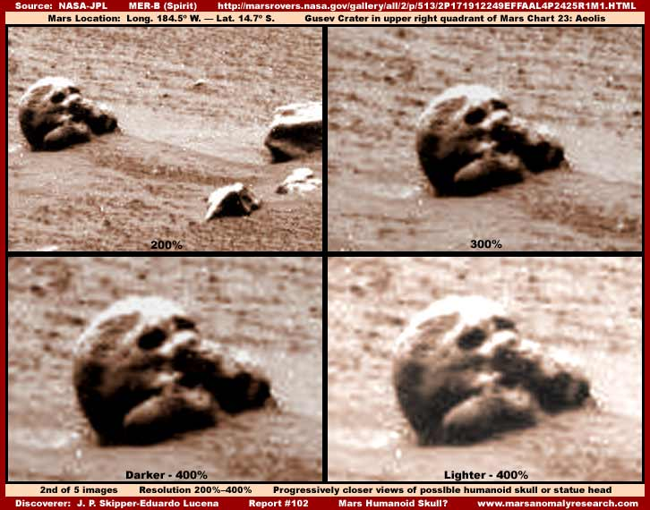 Mars - Lander and Rover Images 2-102-10