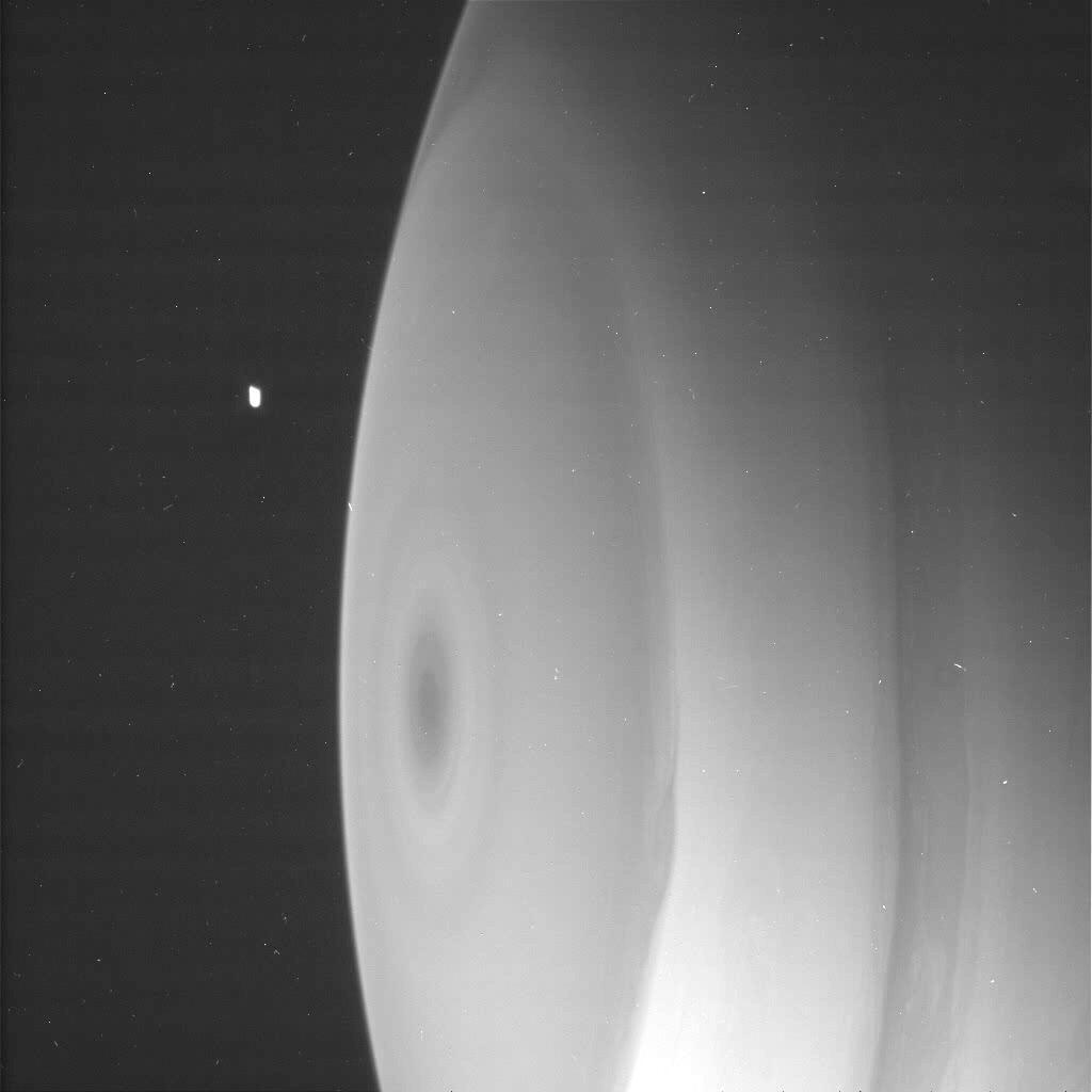 Cassini orbiter locates Sphere object N0000711