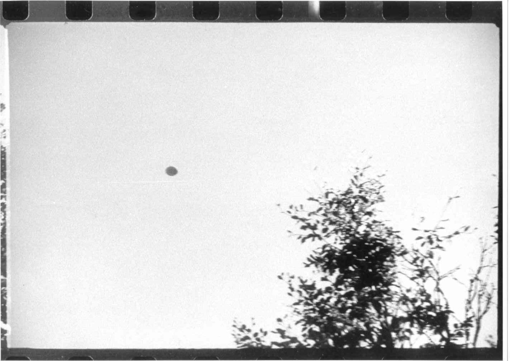 UFO Pictures Taken in Lac Chauvet, France 1952 Photo111