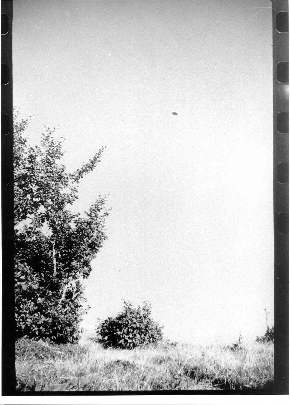 UFO Pictures Taken in Lac Chauvet, France 1952 Photo410