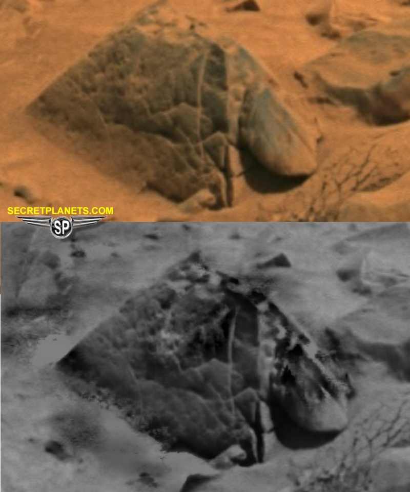Mars - Lander and Rover Images Pyrami10