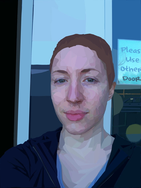 Assignment 12 - self-portrait with pen tool Due Oct 19 (Tues) Vector10