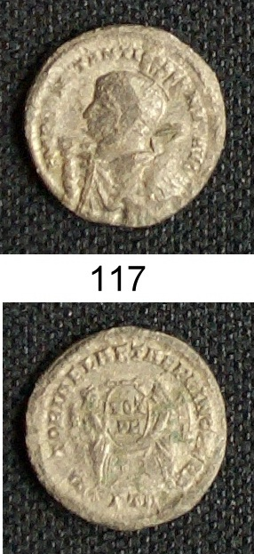 pseudo argenteus de CONSTANTIN Ier 11711
