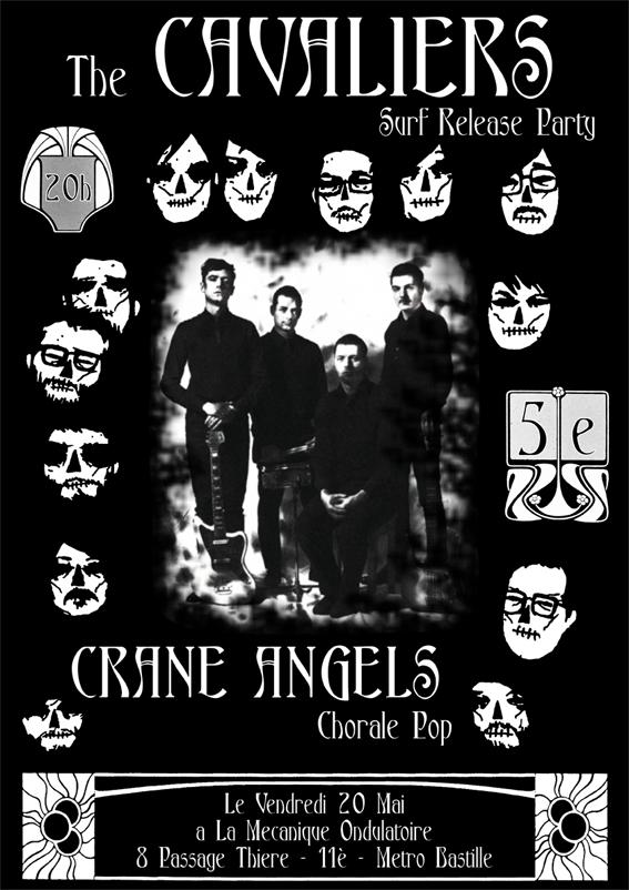 THE CAVALIERS + CRANE ANGELS (Mécanique Ondulatoire Cavali10