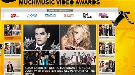 Much Music Awards : 20/6/2010 Captur22