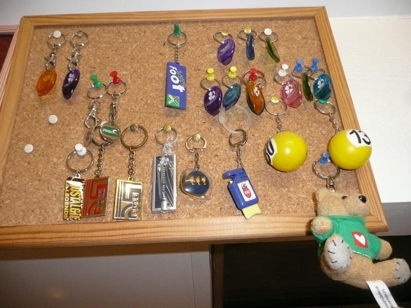 quelques porte clés fdj pour le plaisir des yueux et la connaissance aussi P1030710