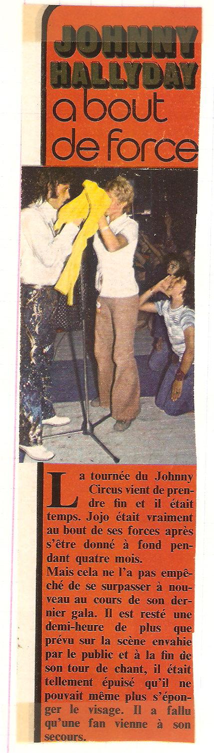 LES CONCERTS DE JOHNNY 'TOURNEE JOHNNY CIRCUS 1972' - Page 2 Articl10
