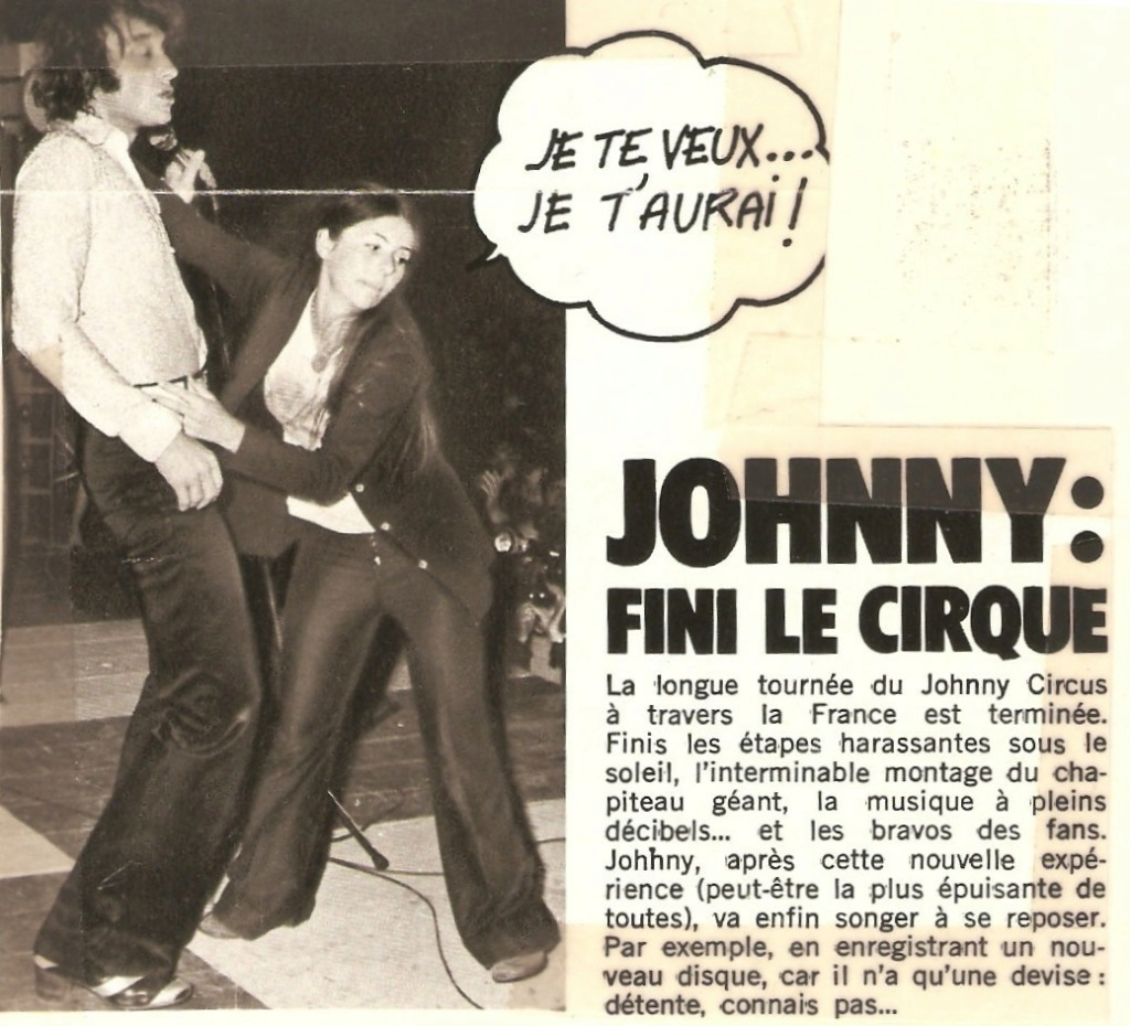 LES CONCERTS DE JOHNNY 'TOURNEE JOHNNY CIRCUS 1972' - Page 2 Articl11