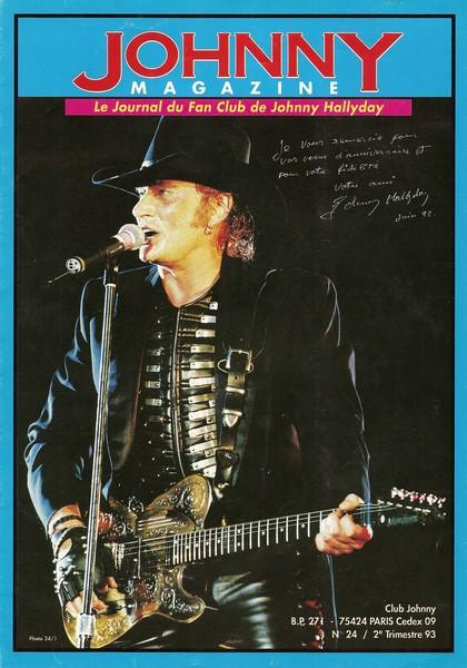 COUVERTURES DES 'JOHNNY MAGAZINE' ( 1985 - 1997 ) Johnny13