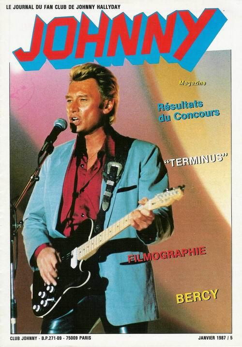 COUVERTURES DES 'JOHNNY MAGAZINE' ( 1985 - 1997 ) Johnny15
