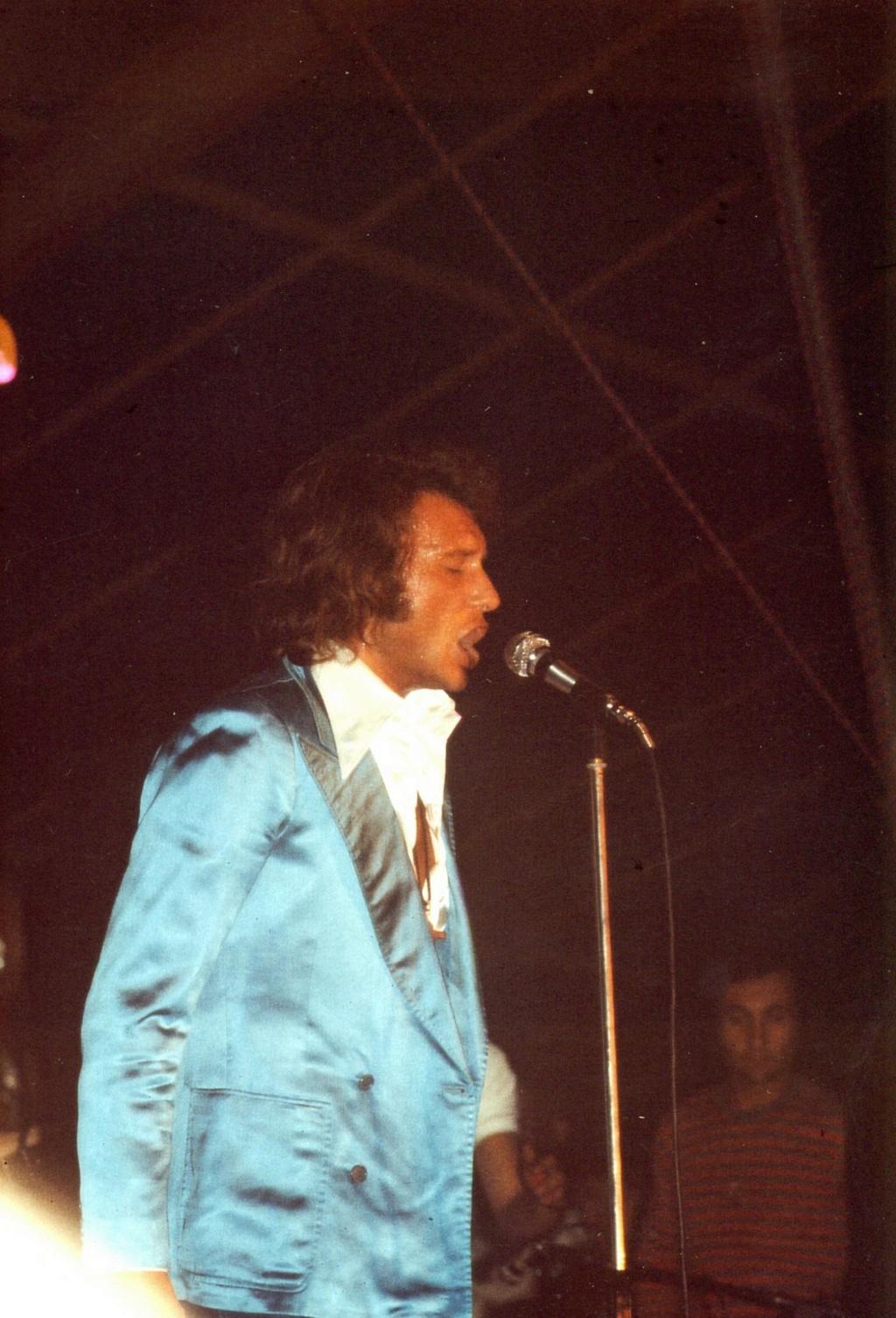 LES CONCERTS DE JOHNNY 'TOURNEE JOHNNY CIRCUS 1972' Pornic10