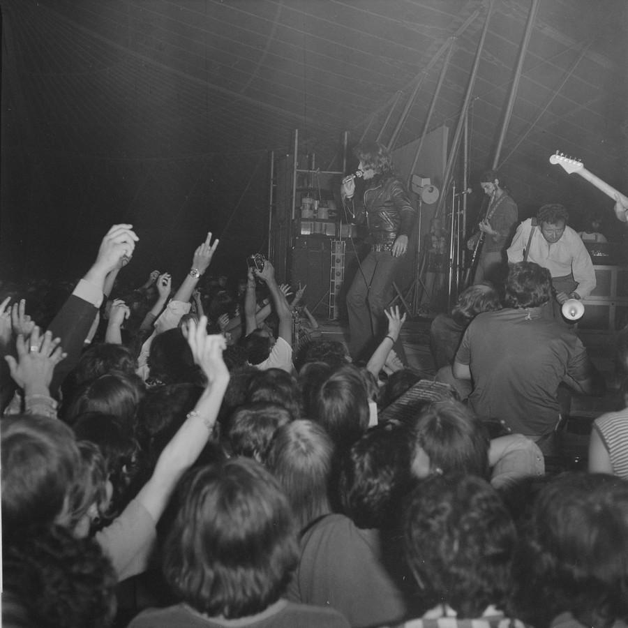 LES CONCERTS DE JOHNNY 'TOURNEE JOHNNY CIRCUS 1972' St_lo_10