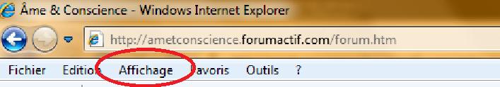 Comment agrandir l'apparence du Forum Explor10