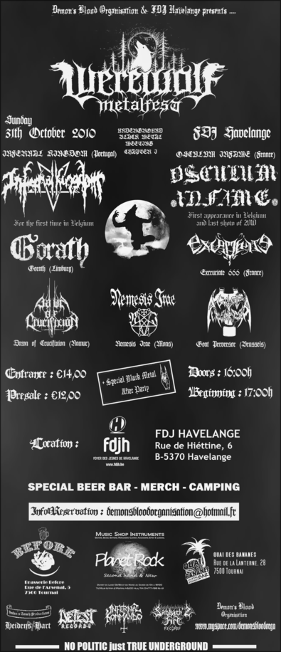 31/10 Werewolf Metal Fest (UGBM Meeting -Wallonie, Belgique) Nupvn10