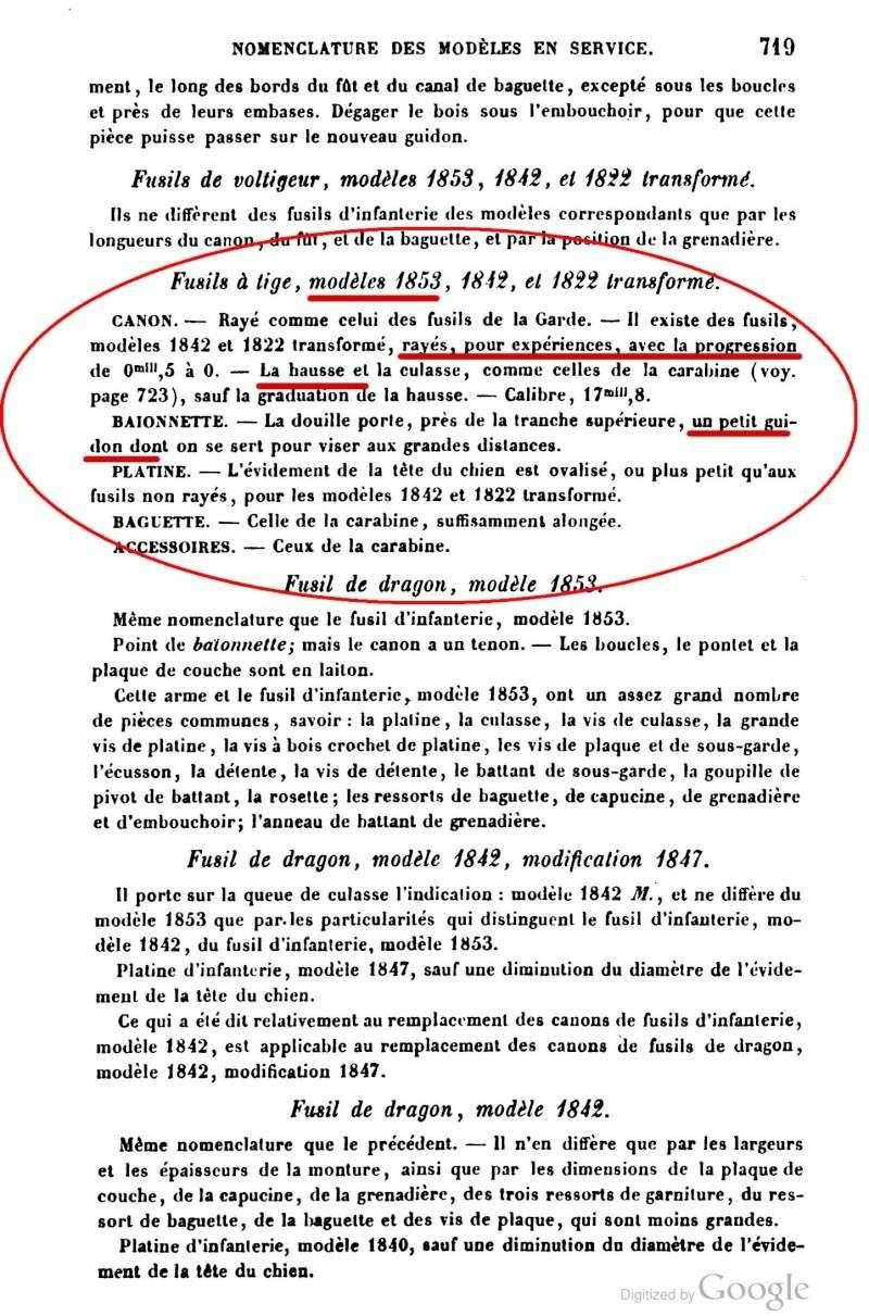 Le fusil 1853 T car : retrouver sa trace Aide-m10