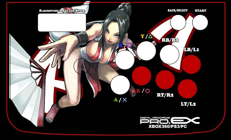 Creations d'artwork pour stick arcade + modifs Hori_m14