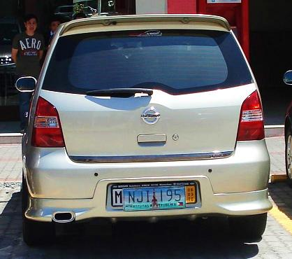 Add ons - Tail pipe and euro plate Muff10