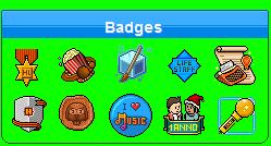 badge - Habbo Forum Badge Cattur11