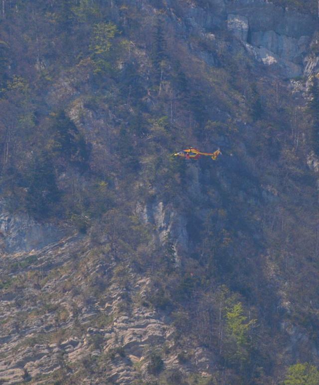 EC145 en sauvetage en Chartreuse P4221710