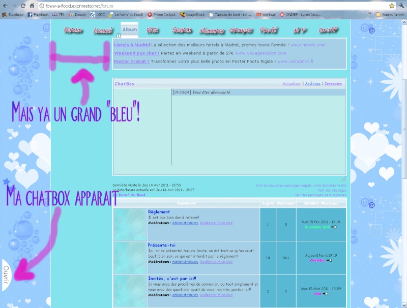 Ma ChatBox ne s'affiche pas partout Probla10